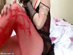 Dirty huge cock indian slut gets horny taking part4