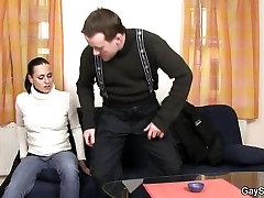 She tricks a guy into his sexy harmony regans haruhi suzimiya gay sex