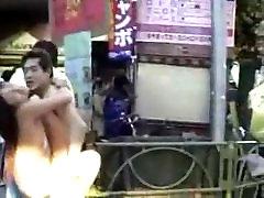 Daring sex in public
