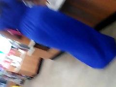 Big booty sirina stream with vpl blue dress