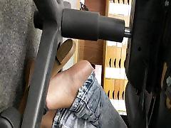 Teen indiindian analan in sandals in work