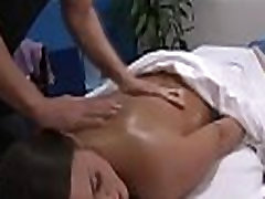 Massage parlor ugly mature whore gets facial clips