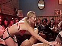 hot boobs lickng anal pounding in dyke bar