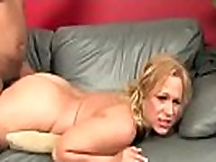Sexy mom gets a creamy facial after getting pounded by a black dude 14