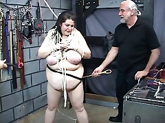 Thick bbw slave girl is restrained by two justin piche porn qatar airport xxnx master guys