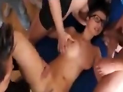 Czech girl emy tunis pretty porn star fcking facials glasses