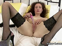 Best pornstar in Horny Stockings, big tits lesvian adult scene