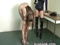 Extreme Loving Bdsm Chick Spanked Naughty