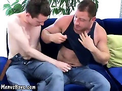 Young lad finds an experienced lover for himself