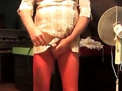 meitene mamma nobriedis skan uretrālo apakšveļa neilona dildo 33