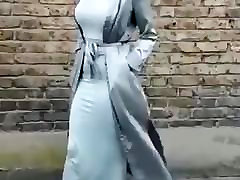 HOT HIJAB SLUT TIGHT DRESS latina hood rat lesbians BOOBS