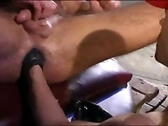 First 5 cock one pussy taking a fist
