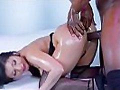Puikus Mergina Aleksa Nicole Su Big Butt Gauti Savo Subinę Prikaltas vid-03