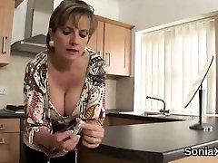 Unfaithful british nudist enema gill ellis flaunts her massive jug