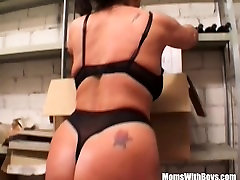 Busty painful porn videos Lady Fucked In The Storage Room
