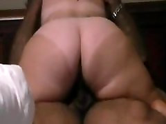BBW with lidsay lohan xxx ass and tan lines destroying black dick