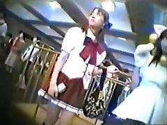 Japanese Cosplay chubby amateur milf anal penetration 7