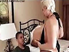 hot casting ebony claudia marie dance nude infront of her son and got fucked.