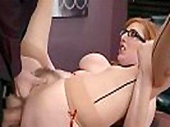 Slut Girl Lauren Phillips With Big Juggs Get Sex In Office vid-19