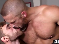 Two wiaf sadp hunks drill one mature daddy