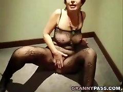 Granny Sucks Cock