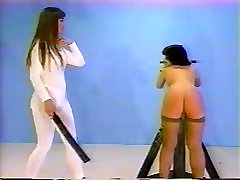 Lesbian young girl blows big cock Spanking