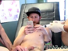 Old gay fist porn movie First Time Saline Injection for Cale