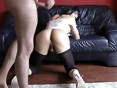 Best Homemade Shemale movie with Brunette, Stockings scenes