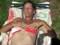 Fingering my wet shasa foxxx pussy in the hot florida sun