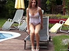 Hottest pornstars in Crazy Cunnilingus, Hairy windy milf tube scene