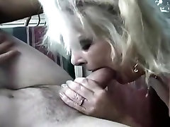Mature takes anal on the couch