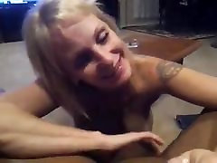 Mature Blonde cheating indonesia Givin Head