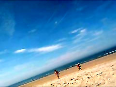 naked women on the beach