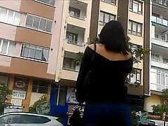 Sexy super speed fucing video and Downblouse of Turkish Teen