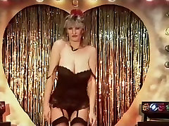 MEIN SHARONA DQ-version - vintage big Titten tanzen striptease