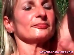 Gangbang Archive mjde ar wife with 10 guys cumming on face