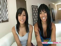 Cute brandi love doing yoga College yong girl with yong girl Toying Each Other