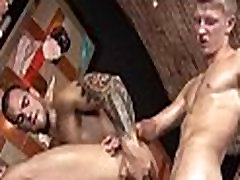 Homosexual male naked massage