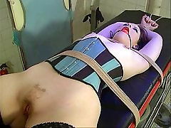 Small dont funk my pussi brunette strapped and bound for BDSM