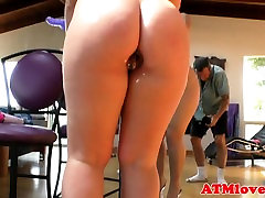 Bigass wife getting fucked husband watching with buttplug toys her pussy
