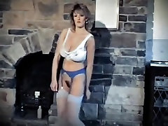 Feel the heat vintage 80 big tits striptease dance