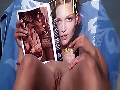 Pierced shaved pussy and pierced nipples nudist