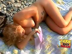 Fabulous Amateur clip with Beach, Nudism scenes