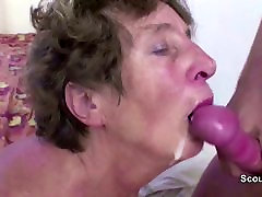 Young Boy Seduce bigs tits natural mom to Get First Fuck and Fuck her Anal