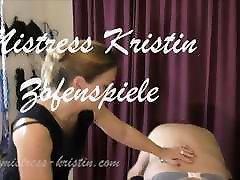 Crossdresser Slave michael monk Dominatrix Mistress Kristin BDSM