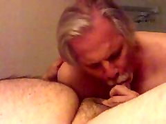 Silver my sexy mom fuck me nice melons in remmed blow job