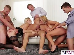 Couple wants to try bi orgy