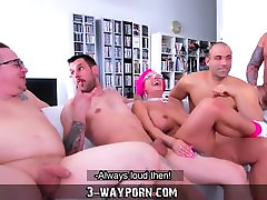 3-Way Porn - Busty alura jenson workoutfull video in Gang Banging DP
