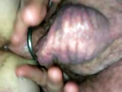 My chubby Girl blonde takes my fat cock up her ass anal