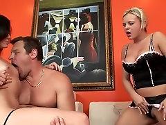 Pohoten pornstars Bree Olson in Stephanie Žajbelj v čudovito cumshots, majhne extreme deep throat bang xxx posnetek